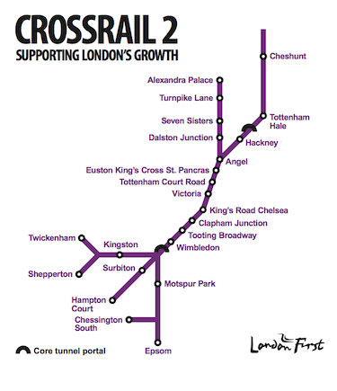 London First Crossrail 2