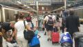 [Eurostar]Most passengers arriving at St Pancras (as well as Paris Gare du Nord and Brussels Midi) have a long walk to leave the stations but it is worse in London because of the border controls and passengers have to go downstairs.