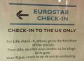 [Eurostar]Closing the 'Lille Loophole', where passengers buy a ticket to Lille but travel to London, has long been a concern for the UK Border Agency. At Brussels passengers remaining on the European mainland are separated to reduce the queues
