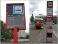 [Prague]Most of the tram stops in Prague lack CIS screens but they have been introduced in some places