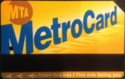 [New York]New York has its stored value Metrocard ticket. It can be used on the Subway with a standard flat fare, everywhere, on the PATH (see description later), and also on the two Airport systems. as well as on the MTA bus network.