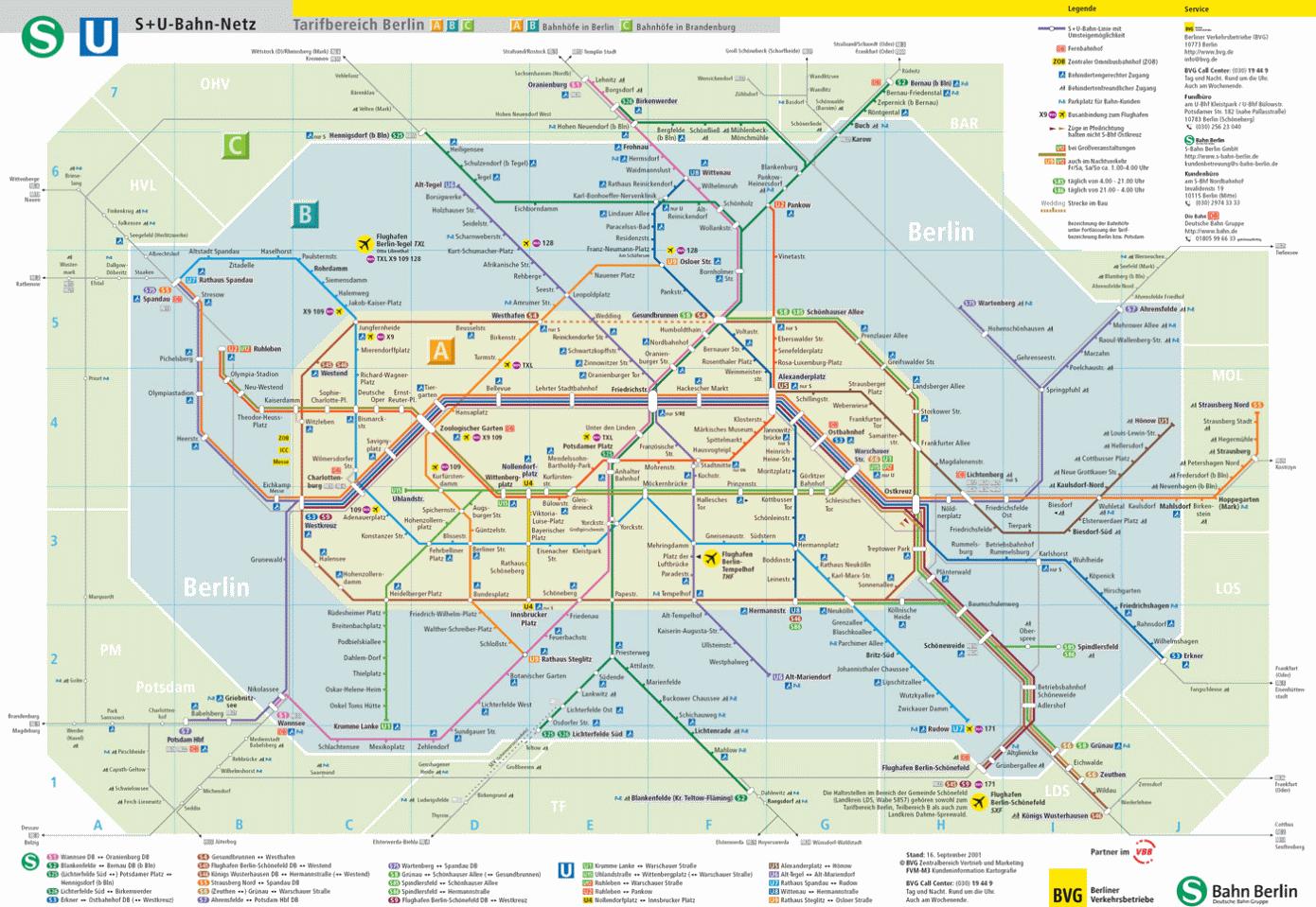 Railfuture Go and Compare Berlin