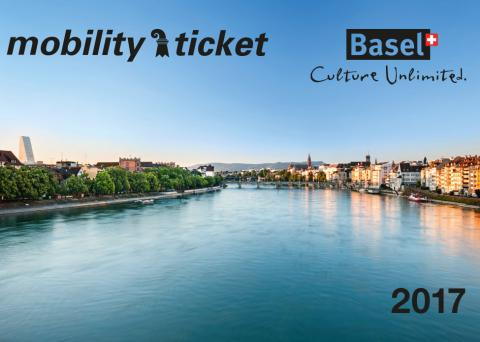 Mobility travel card provided free of charge to visitors to Basel when they register at a hotel, which allows unlimited travel for the duration of their stay (maximum of 30 days)