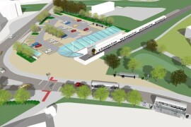 New Portishead station as proposed in 2015 – image by North Somerset Council.