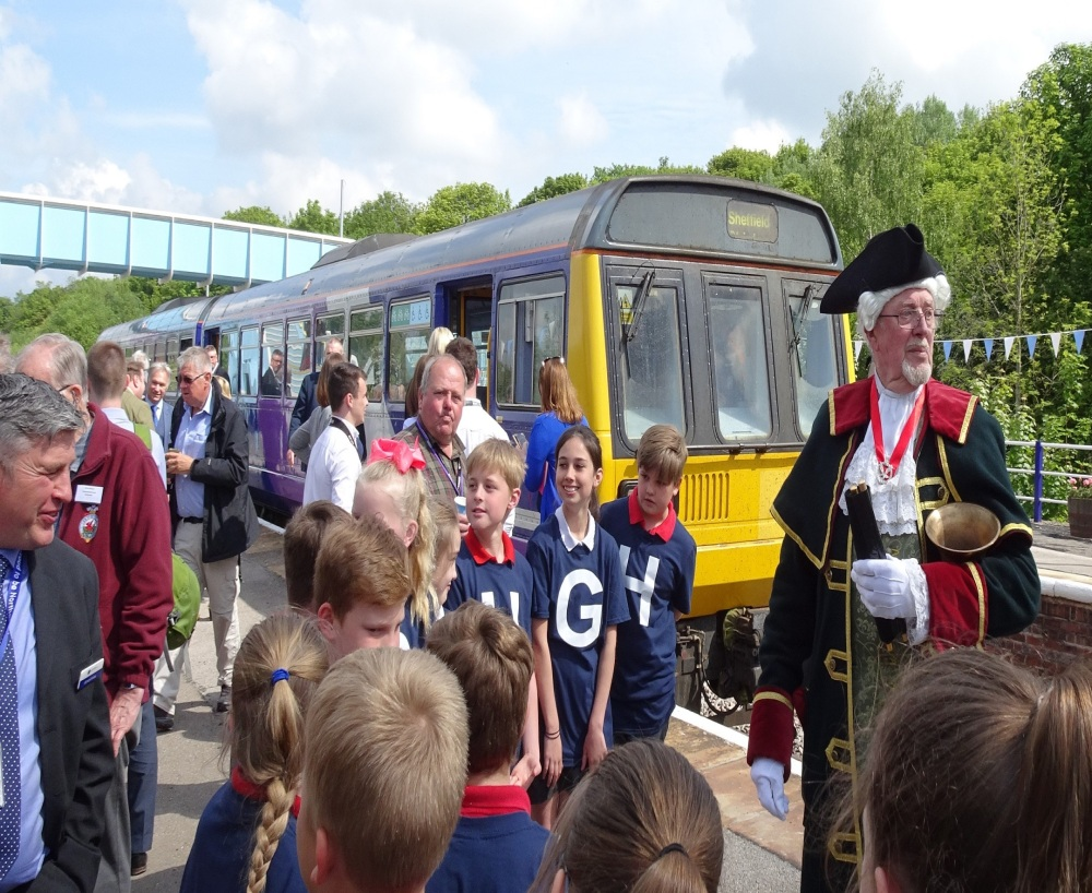 First weekday rail service in 26 years arrives at Gainsborough Central Station
