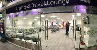 Photo of 'assisted travel' lounge Network Rail opened at Birmingham New Street station in 2019, intended for people who need additional help to board trains