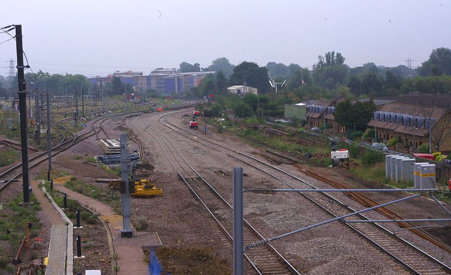 South of the station showing the Cambridge route. Photo: Owen Smithers